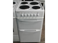 o695 white beko 50cm solid ring electric cooker comes with warranty can be delivered or collected