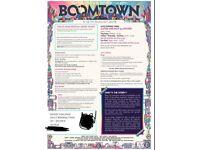 Boomtown 2018 standard weekend ticket