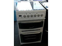 o051 white cannon 50cm ceramic hob electric cooker comes with warranty can be delivered or collected