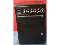 n372 black leisure 55cm gas cooker comes with warranty can be delivered or collected