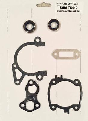 Brand New Complete Engine Gasket Set With Oil Seals For Stihl Ts410 Ts420