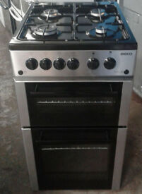 j162 stainless steel beko 50cm gas cooker comes with warranty can be delivered or collected