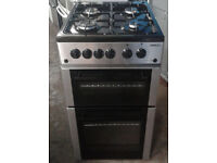 y162 stainless steel beko 50cm gas cooker comes with warranty can be delivered or collected