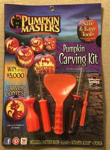 PUMPKIN MASTERS Halloween carving kit 2016 PM16-219 - quantity discounts - NEW