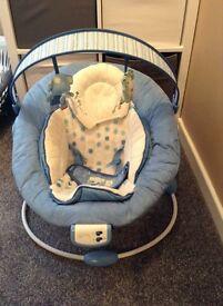 Vibrating musical chair