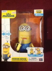 Brand new and boxed interactive minion