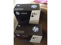 HP toner 42A black, only 1 left