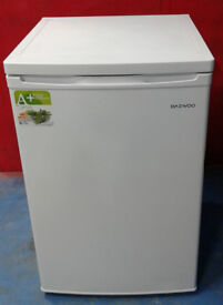 m653 white daewoo under counter fridge with freezer box new graded with manufacturers warranty