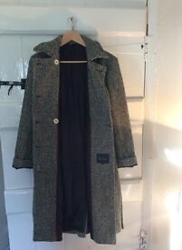 Ladies Boden Wool Trench Coat