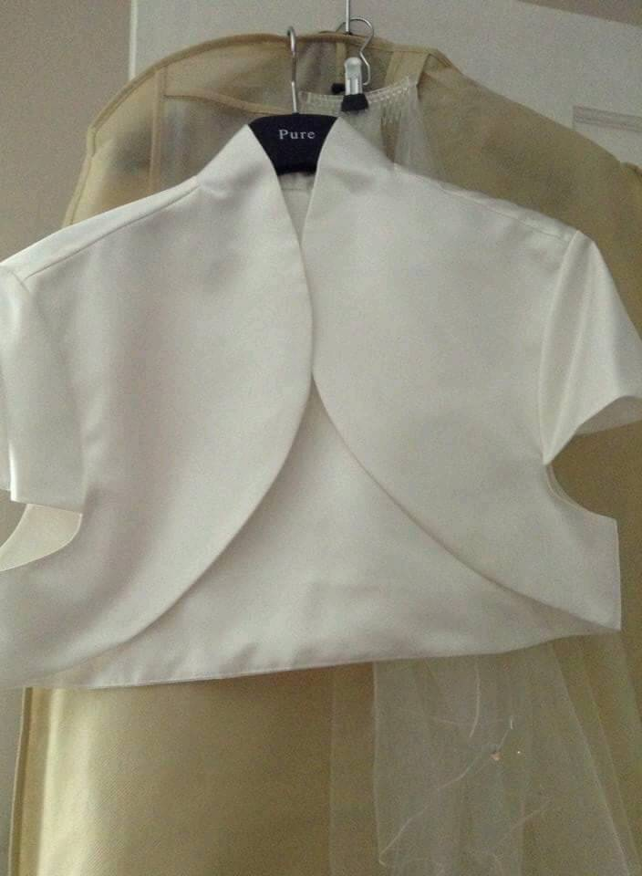 Bolero NWOTin Norwich, NorfolkGumtree - Bolero to wear over your wedding dress its a size 22 in ivory. Viewings welcome
