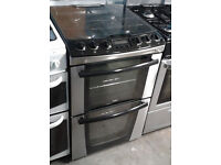 b311 stainless steel zanussi 55cm gas cooker comes with warranty can be delivered or collected