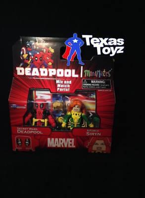 Marvel Minimates 65 Secret Wars Deadpool & Siryn X-Force Mini-mates DST Toys - Siryn Marvel