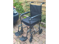 CARECO ALULITE TRAVEL WHEELCHAIR. delivery possible