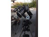 """Celestron CPC 91/4"""" XLT Reflector scope and accessories..."""