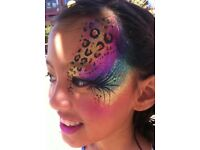 ( From £30ph)*Professional Face Painter/Glitter/Painting/Glitter Tattoos For Hire*