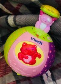 Pop Up Musical Ball Toy