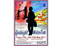 Goodnight Mr Tom. The Point Theatre, Eastleigh. Thursday 11 May - Saturday 13 May