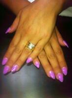 Pose d'ongles 35$