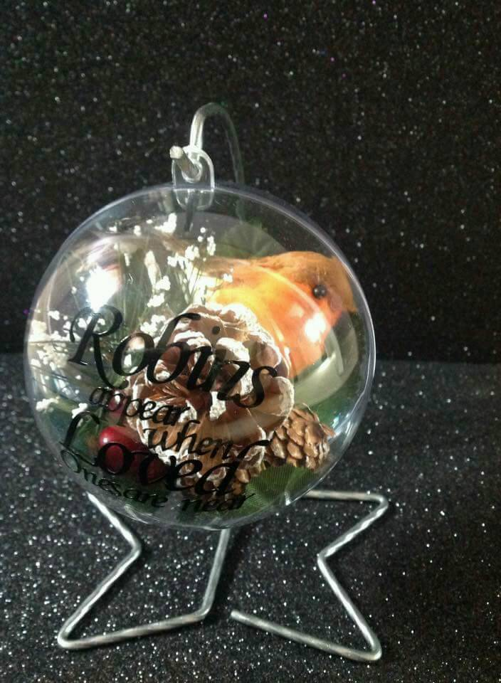 Bauble with stand