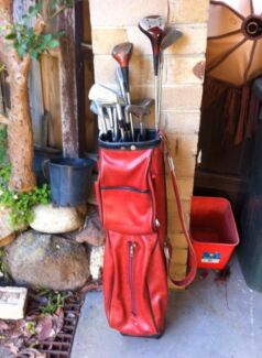 Vintage Retro Golf Clubs Eltham Nillumbik Area Preview