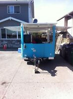 Need my food trailer shipped from Vic to Hamilton ON area