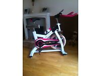 Spin exercise bike.