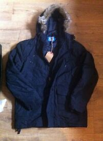 brand new with tags unisex parka jacket