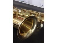 Antigua Winds- Alto Sax and Case