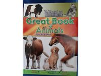 Great Book of Animals - Farm and pets hardback book