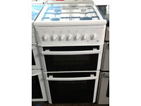 a114 white beko 50cm gas cooker comes with warranty can be delivered or collected