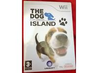 Wii THE DOG ISLAND GAME for sale Boxed £5