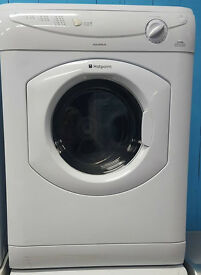 a138 white hotpoint 6kg reverse action vented dryer comes with warranty can be delivered