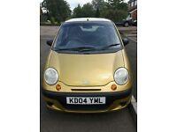 04 Daewoo Matiz | Low Mileage 64,000 | Fantastic First Car | 5 door | Yellow | Petrol | 10 Month MOT