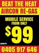 $99 Regas car air conditioning! Mount Pleasant Melville Area Preview