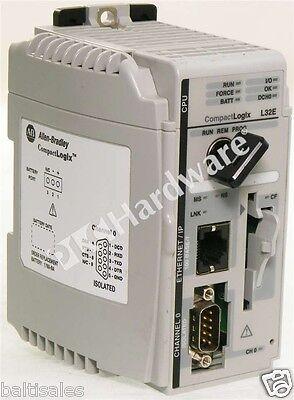 Allen Bradley 1769-l32e A Compactlogix Enet Processor Controller Fw 19.15 Qty