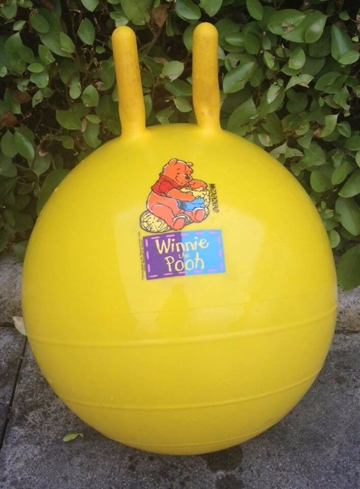 OUT DOOR TOY : WINNIE THE POOH SPACE HOPPER