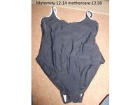 maternity swim suit size 12-14 collection from didcot from a smoke and pet free home