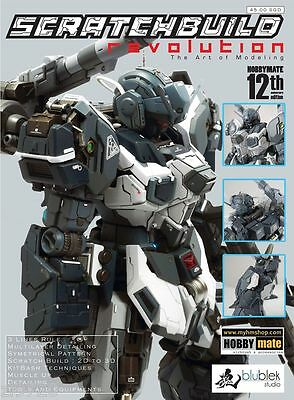 Scratch BuildRevolution Book Gundam Detail Builders Parts Modify Model