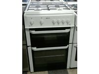 664 white beko 60cm gas cooker comes with warranty can be delivered or collected