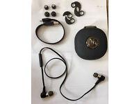 JayBird BlueBuds X Premium BBX1 Wireless Headphones - Black