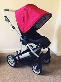 Mamas and papas pixo carrycot and push chair