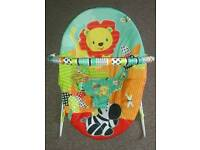 Baby Vibrating Bouncy Chair