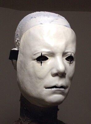 Creepy Mime V2 Killer Mask Ghost Face Clown Vampire](Scary Mime Face)