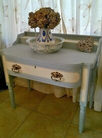 French Antique Wash stand - shabby chic