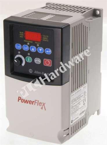 Allen Bradley 22A-D6P0N104 Series /A PowerFlex 4 AC Drive 480V 6A 3HP FRN 5.01