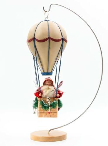 "Marolin Of Germany Christmas Limited Edition ""Santa in His Balloon"" 20 Inch Tall"