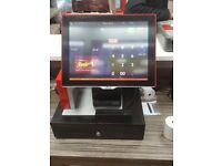 Aures Sango Touchscreen Epos Unit with Software for Pizza, Restaurant, Takeaway, Bar, Chinese