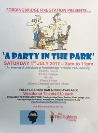 Fordingbridge Party in the Park tickets