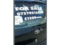 Toyota yaris 3dr 1l petrol 41k only