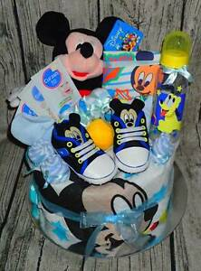 MICKEY MOUSE NAPPY CAKE Para Hills West Salisbury Area Preview